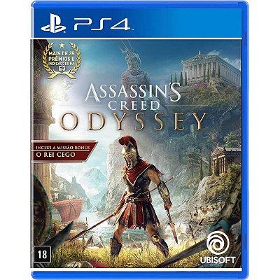 Assassins Creed Odyssey Edição LImitada Day One PS4