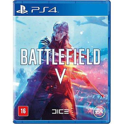 Battlefield V PS4 Com Chaveiro