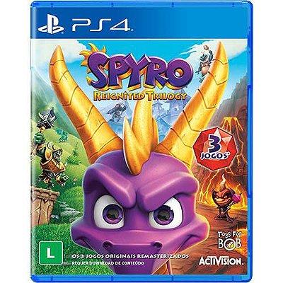 Spyro Reignited Trilogy PS4 Com Chaveiro