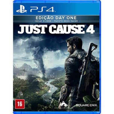 Just Cause 4 Edição Day One PS4 Com Chaveiro