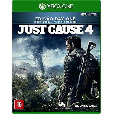 Just Cause 4 Edição Day One Xbox One Com Chaveiro