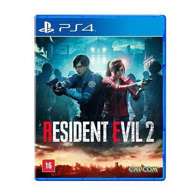 Resident Evil 2 PS4 Com Chaveiro