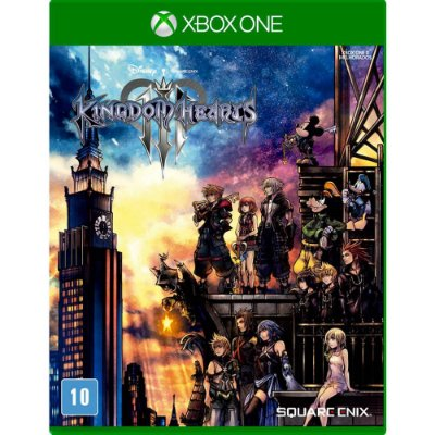 Kingdom Hearts III Xbox One Com Chaveiro