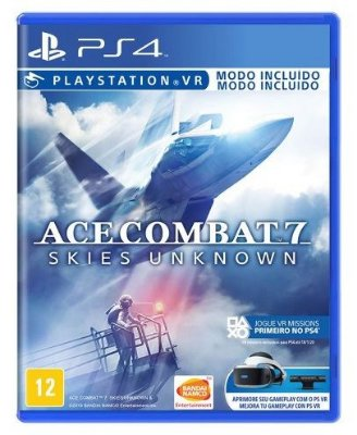 Ace Combat 7 Skies Unknown PS4 + Pôster