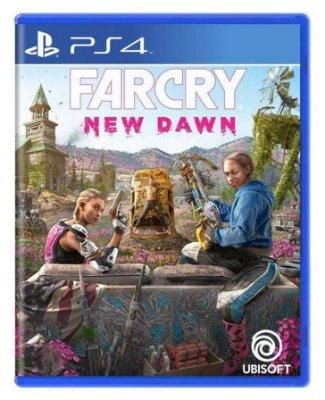 Far Cry New Dawn PS4 Com Chaveiro