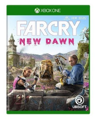 Far Cry New Dawn Xbox One Com Chaveiro