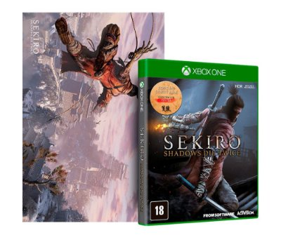 Sekiro Shadows Die Twice Xbox One Com Pôster