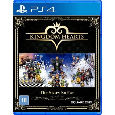 Kingdom Hearts The Story So Far PS4 Com Chaveiro