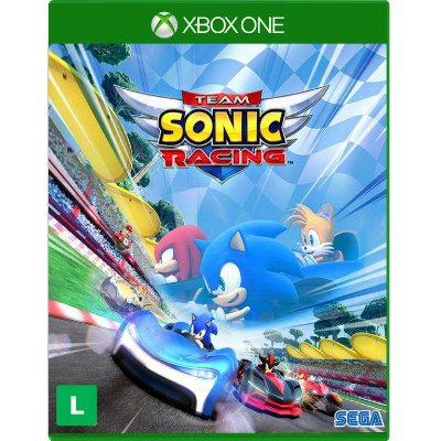 Team Sonic Racing Xbox One Com Chaveiro