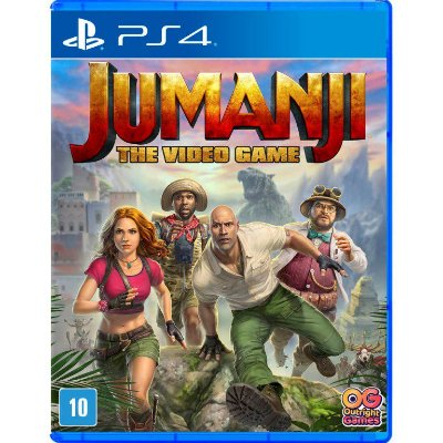 Jumanji The Video Game PS4