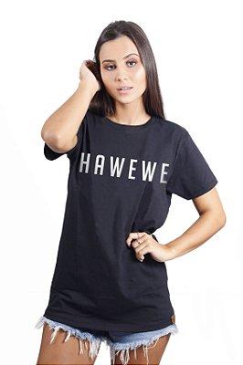 Camiseta Hawewe Preta