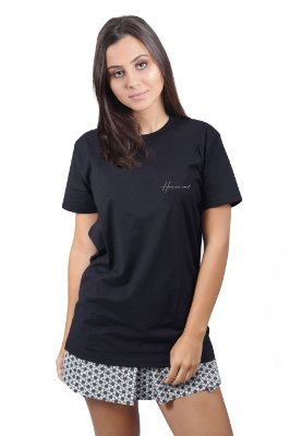 Camiseta Hawaiian Soul Preta