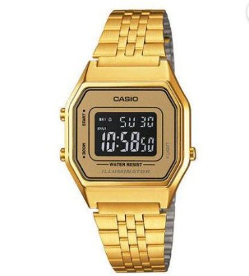 Relógio Casio LA680WGA - 9BDF Dourado