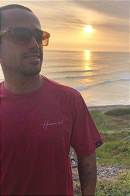 Camiseta Hawaiian Soul Vermelha Mescla