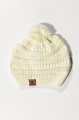 Touca Gorro Hawewe Pompom Off-White