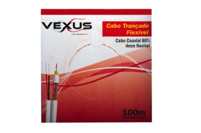 Cabo Quaxial Vexus 100mts 4MM