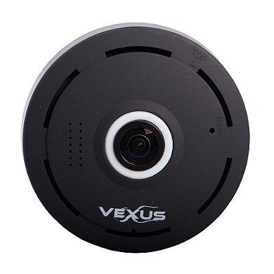 Câmera Ip 360 Grau Preta Vexus