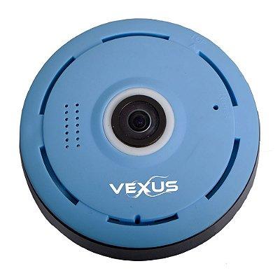 Câmera Ip 360 graus Azul Vexus VX-3601