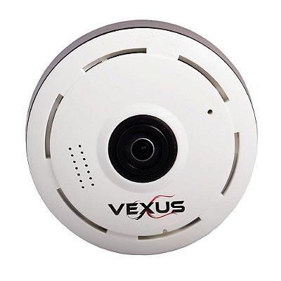 Câmera Ip 360 Grau Branca Vexus