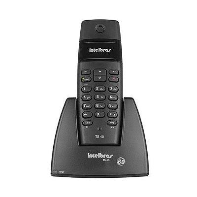 Telefone sem Fio Digital Intelbras com Secretária Eletrônica TS3130