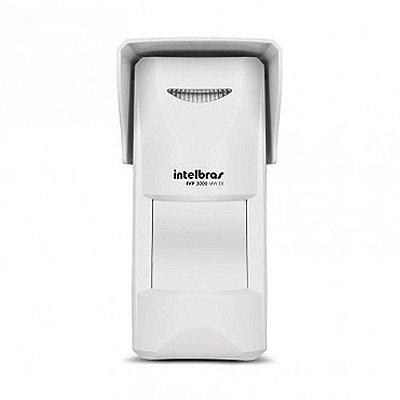 Sensor Infravermelho Passivo E Microondas Intelbras Ivp 3000 Mw Ex