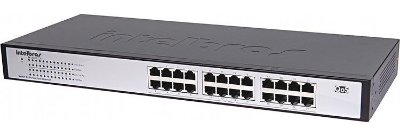 Switch Intelbras 24 Portas Gigabit Ethernet - Sg 2400 Qr