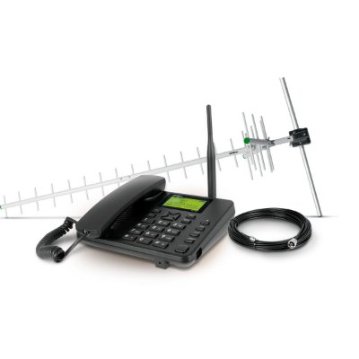Celular Rural Dual Chip Cfa-5022 Com Kit - Intelbras