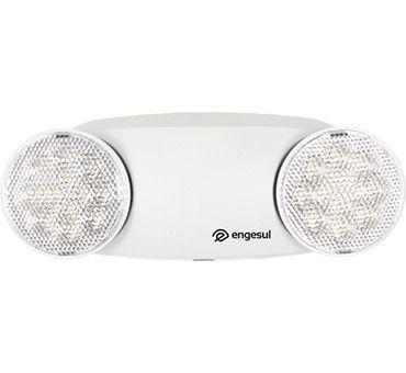 Luminária De Emergência Led, Branca Bivolt Bla 201 – Engesul