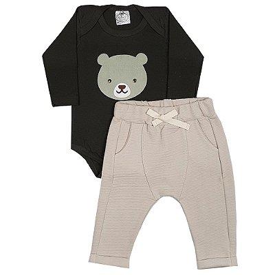 Conjunto Bebê Urso Ted
