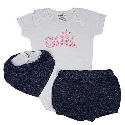 Conjunto Bebê Girl Jeans