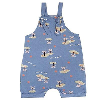 Jardineira Bebê Brisa Do Mar