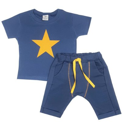 Conjunto Infantil Estrela Azul