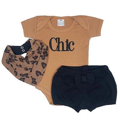 Conjunto Bebê Onça Chic