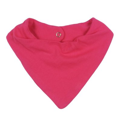 Babador Bandana Bebê Pink