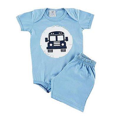Conjunto Bebê Pijaminha Carro