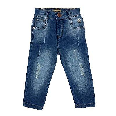 Calça Bebê Jeans Surrada
