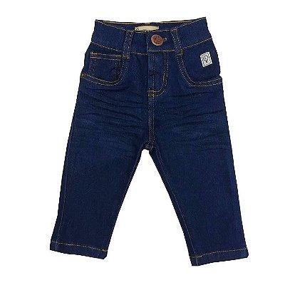 Calça Infantil Jeans Azul Escura