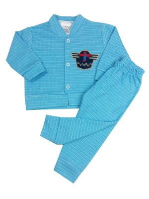 Conjunto Bebê Casaco Aviador com Calça