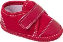 Tênis Bebê Vermelho Velcro