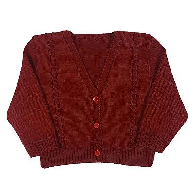 Casaco De Tricot de Lã Victoria Augusto