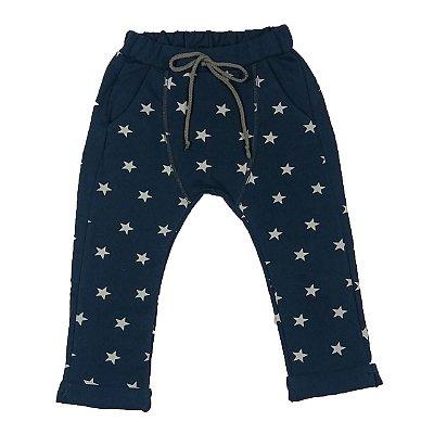 Calça Infantil Saruel Estrelas Marinho