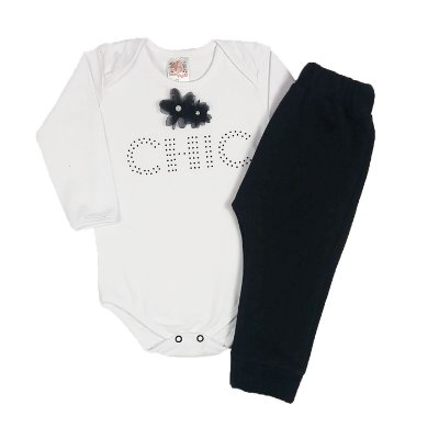 Conjunto Chic Black