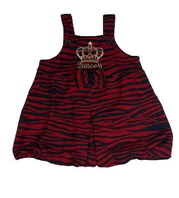 Vestido Infantil Balone Zebra