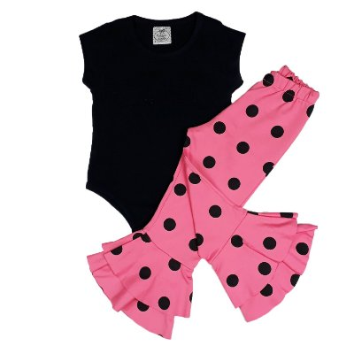 Conjunto Infantil Body Black + Calça Mini Diva