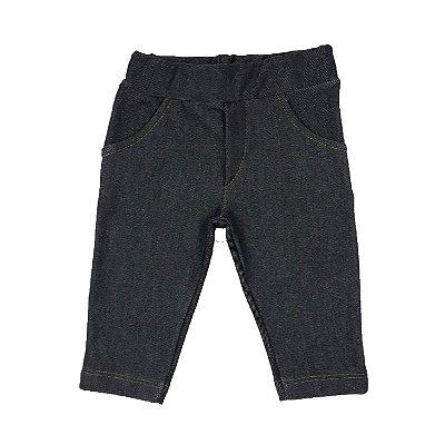 Calça Bebê Jeans Escuro