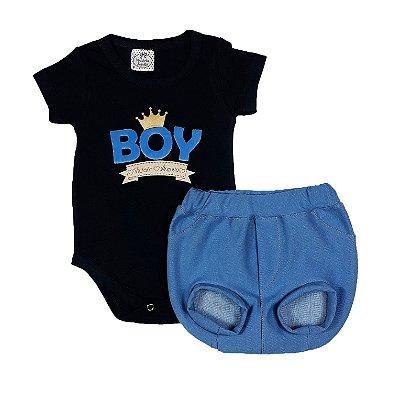 Conjunto Bebê Tapa Fralda Boy