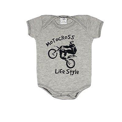 Body Bebê Motocross