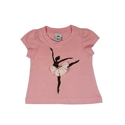 Blusa Infantil  Bailarina