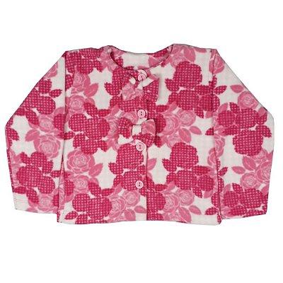 Casaco Infantil Soft Rosa