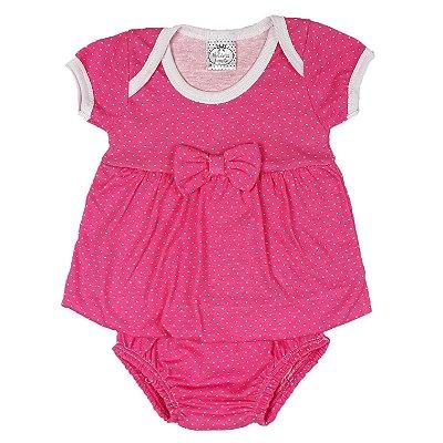 Vestido Bebê Com Calcinha